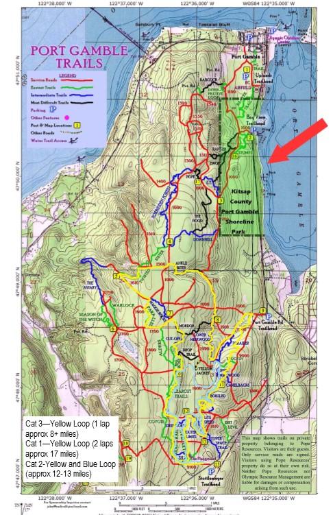 Port Gamble Trails
