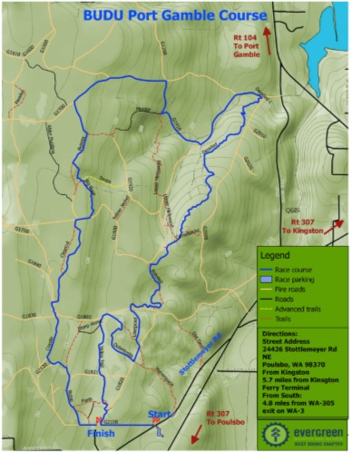 Port Gamble Course Map 2017