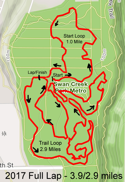Swan Creek Full Course