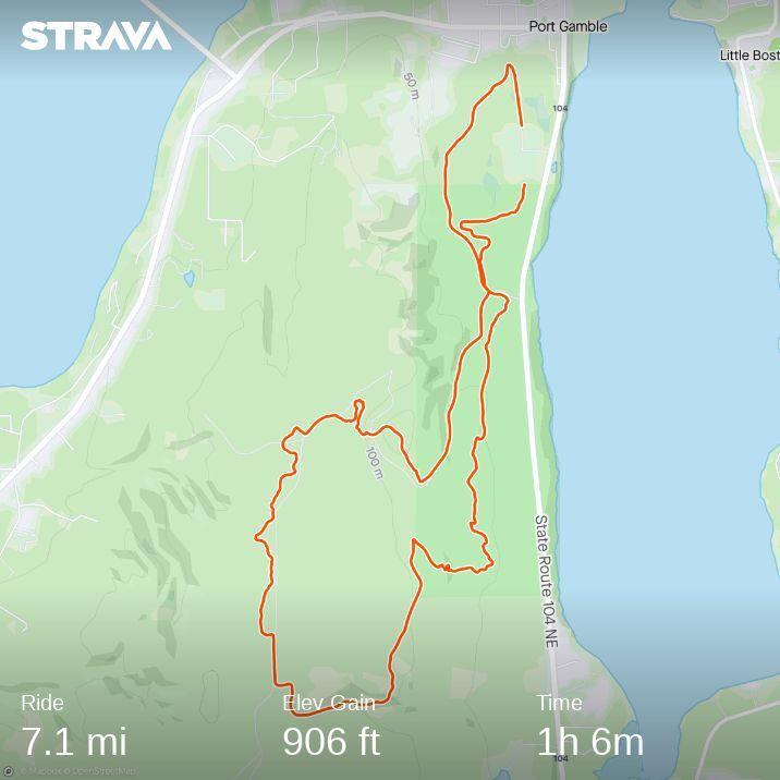 Port Gamble Trail Map 2021 rev 03.25.21